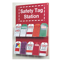 10-Pocket Tag Safety Station